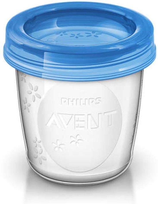 Philips Avent SCF619/05 Bewaarbekers voor babyvoeding - 180 ml - 5 stuks