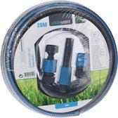 Progarden Tuinslang Met Connector 20 M Pvc Blauw/grijs 4-delig