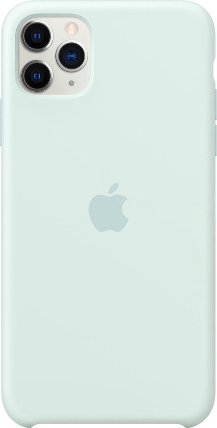 Apple Silicone Backcover iPhone 11 Pro Max hoesje - Seafoam