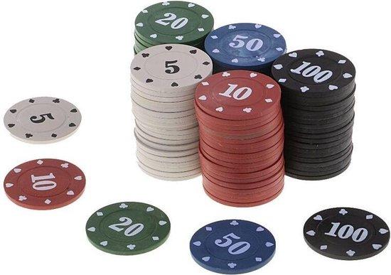 Afbeelding van het spel 100Pcs Texas Poker Chip Tellen Bingo Chips Sets Casino Card Game