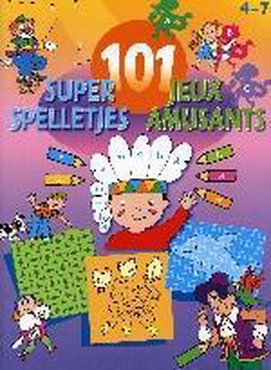 Cover van het boek '101 super spelletjes'
