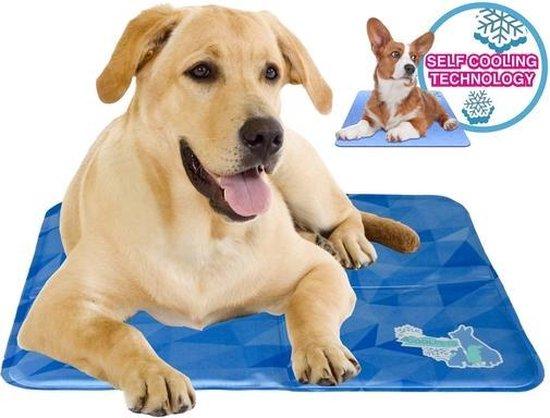 RelaxPets - CoolPets - Dog Mat - Cooling Mat - Koel mat - Afkoelen  - Verkoelen - Maat M - 50x40cm