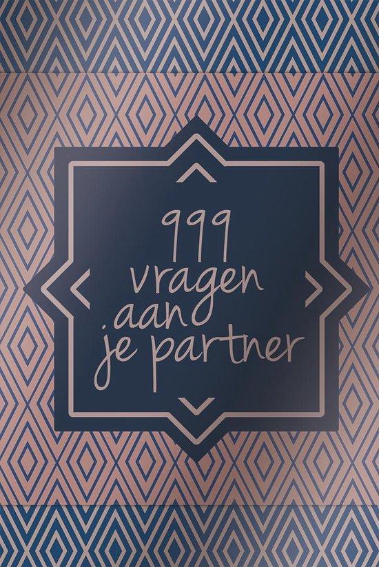 Boek cover 999 vragen aan je partner van Diverse auteurs (Paperback)