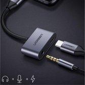 Stijlvolle Universele USB-C naar USB-C + Audio Jack Adapter