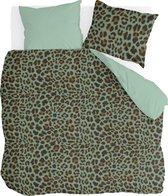 Dekbedovertrek Lazy Leopard - Byrklund - Lits-jumeaux 240x220 cm - Katoen