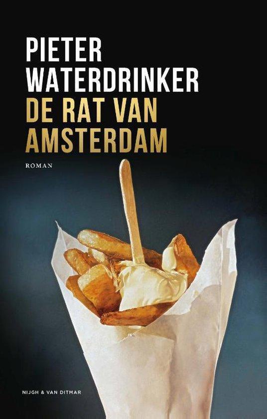 Boek cover De rat van Amsterdam van Pieter Waterdrinker (Hardcover)