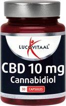 Lucovitaal CBD 10 milligram Cannabidiol Voedigssupplement - 30 Capsules
