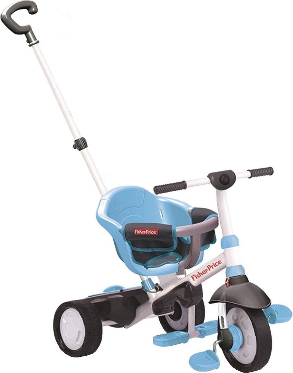 Fisher-price 3-in-1-driewieler Charm - Driewieler - Unisex - Blauw;Zwart
