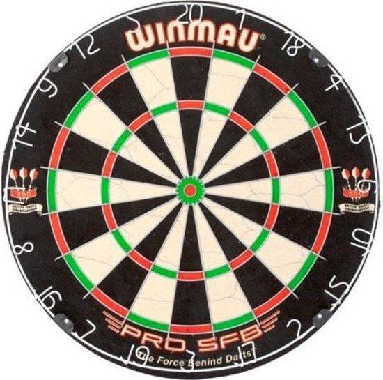 Thumbnail van een extra afbeelding van het spel Winmau Pro SFB incl 2 sets Dartpijlen