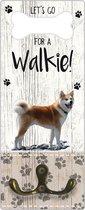 Leibanddrager: Shiba Inu - Kapstok voor: Hondenriem - Halsband - Hondentuig