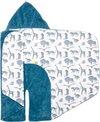 Snoozebaby Knuffeldoekje Sweet Dreaming - met labeltjes - 25x25cm - Storm Blue