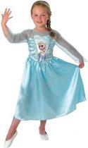 Elsa Jurkje Maat 122 / 128 - Disney Frozen kinderkostuum
