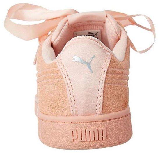 Puma Sneakers Vikky Ribbon V2 Suède Dames Roze Maat 40 SyAfztFp