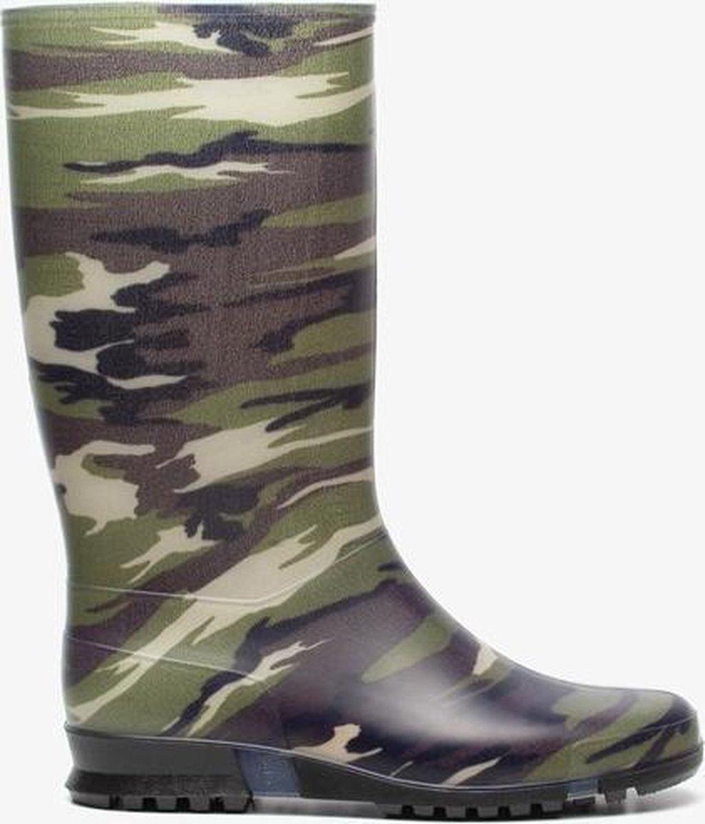 | Dunlop army regenlaarzen Groen Maat 35