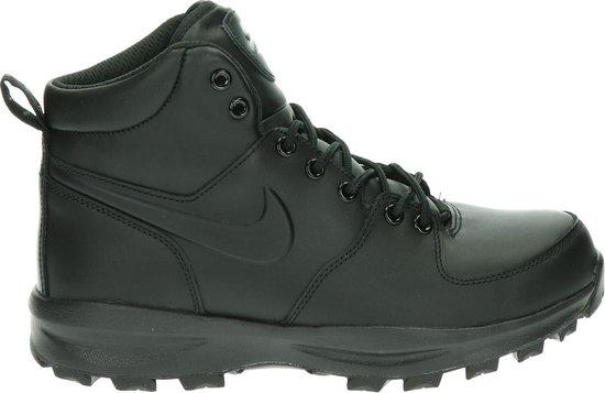Nike Manoa Leather Heren Sneakers - Black/Black-Black - Maat 41