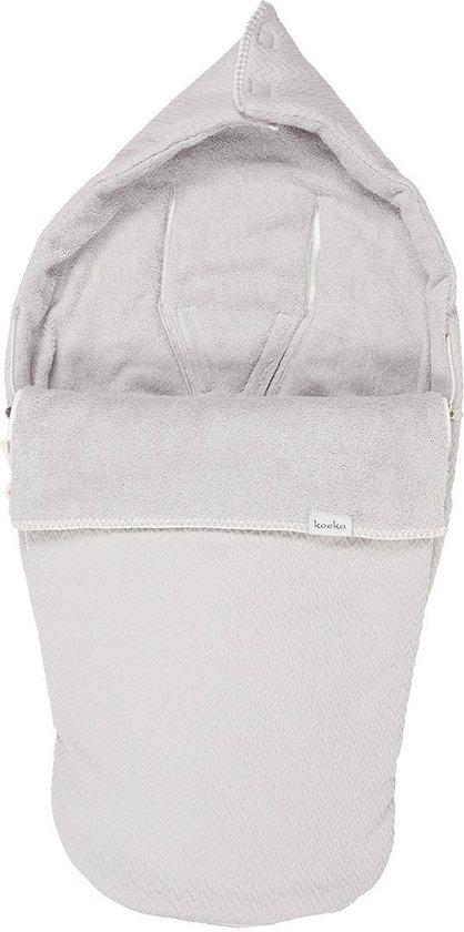 Product: Koeka Buggy Voetenzak Stockholm - Silver Grey, van het merk Koeka