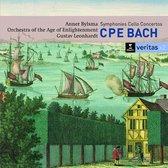 C.P.E. Bach: Symphonies & Cello Concertos / Bylsma, Leonhardt et al