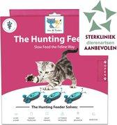 Doc & Phoebe's Indoor Hunting Feeder Interactieve kattenvoerbak - drie muizen