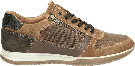 Australian Browning heren sneaker - Cognac - Maat 46