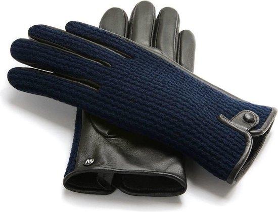Napogloves Gevoerde handschoenen Heren Touchscreen handschoenen Blauw Maat M