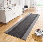 Design loper Band - grijs 80x200 cm