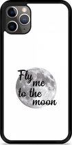 iPhone 11 Pro Max Hardcase hoesje Fly me to the Moon