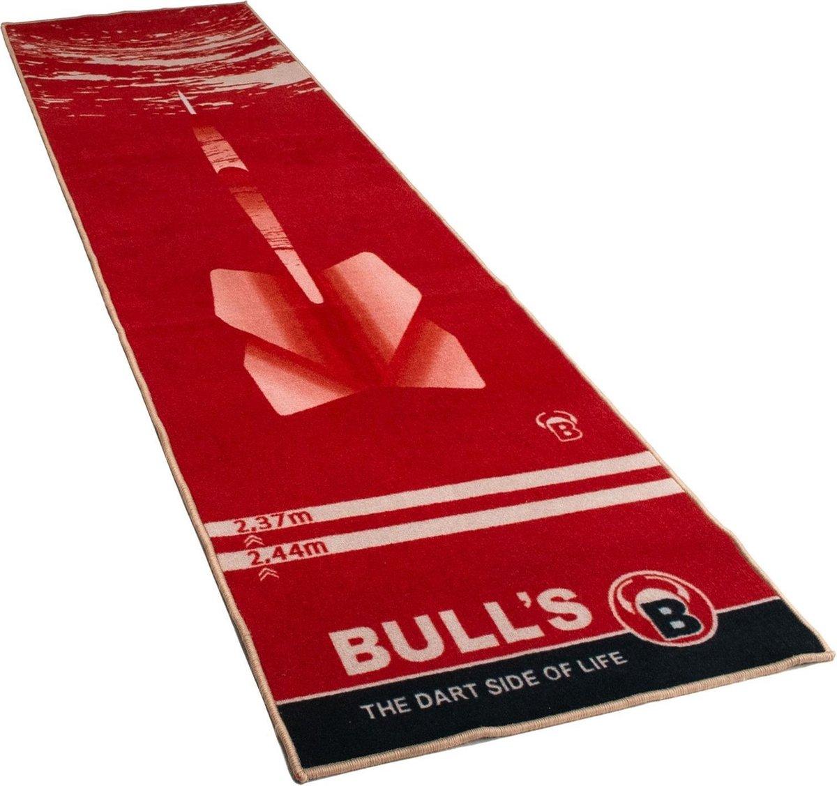 Bull's Dartmat '180' Rood 280 Cm