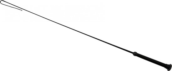 Red Horse Dressuurzweep Fiberglass/gel 110 Cm Zwart