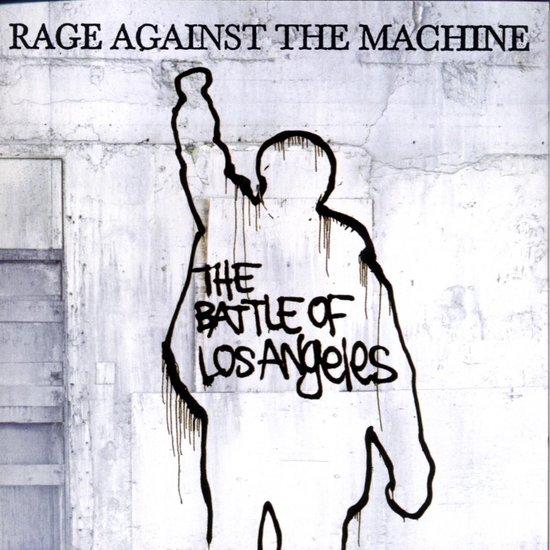 CD cover van The Battle Of Los Angeles van Rage Against The Machine