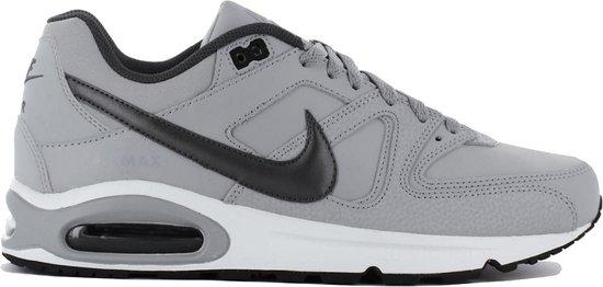Nike Air Max Command Leather Heren Sneakers - Wolf Grey/Black - Maat 44