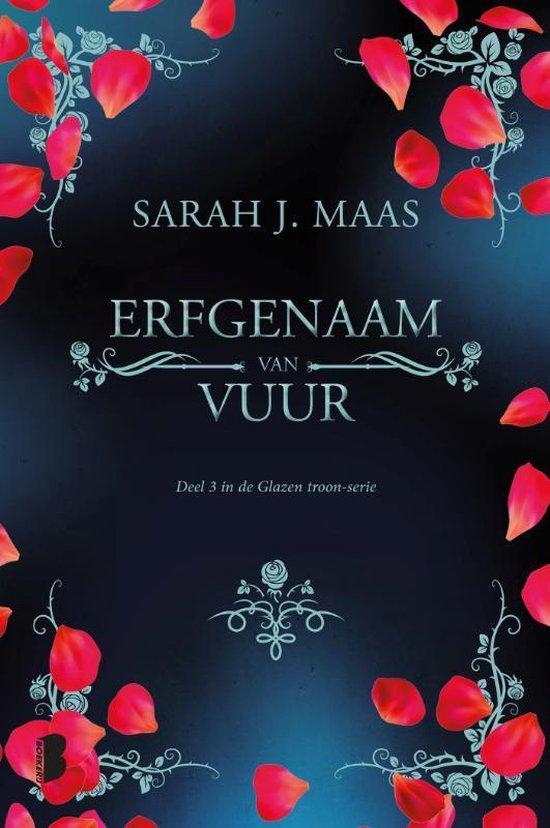Glazen troon - Erfgenaam van vuur - Sarah J. Maas |