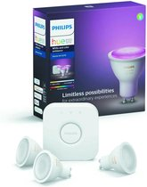 Philips Hue SLimme verlichting Starterspakket - GU10 - White and Color Ambiance - Bluetooth