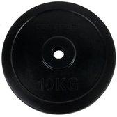 Tunturi Halterschijf - Halter gewichten - 1x 15 kg - 30mm - Rubber