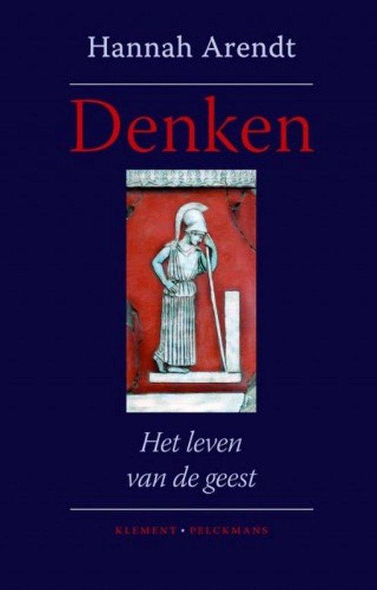 Boek cover Denken van Hannah Arendt (Onbekend)