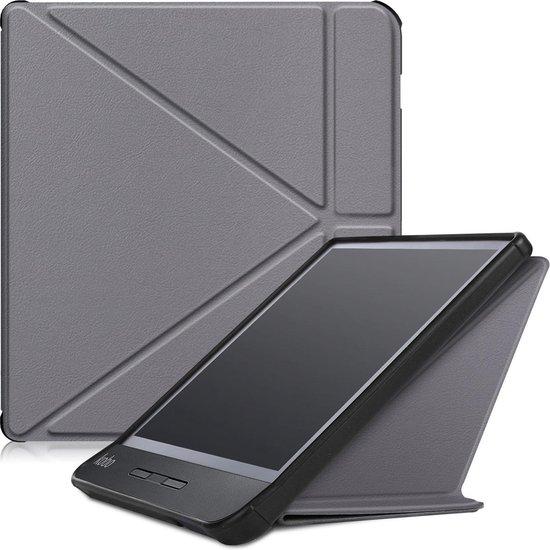 Kobo Libra H2O hoesje - Tri-Fold Book Case - Grijs