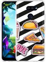 LG K40s Hoesje Love Fast Food