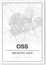Poster/plattegrond OSS - A4