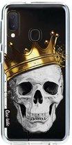 Samsung Galaxy A20e hoesje Royal Skull Casetastic Smartphone Hoesje softcover case