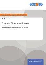 Boek cover Frauen in Führungspositionen van R. Reuter