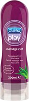 Durex Play Massage en Glijmiddel 2 in 1 Aloe Vera - 200 ml