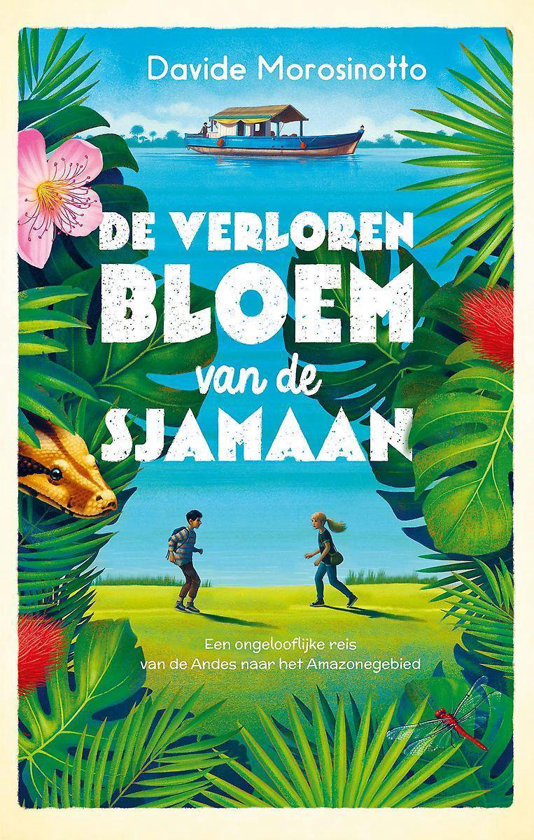 bol.com   De verloren bloem van de sjamaan, Davide Morosinotto    9789059247895   Boeken
