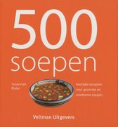 Boek cover 500 soepen van Susannah Blake (Hardcover)