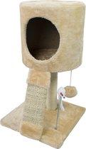 Katten Speeltoren / Krabpaal met Speelbal en Muis