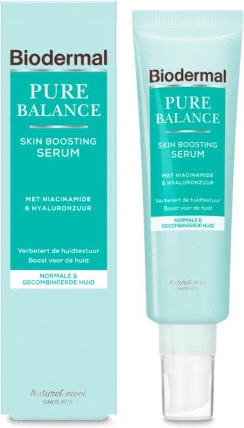 Biodermal Pure Balance Serum - Skin Boosting Serum - Serum met hyaluronzuur en niacinamide - 30ml