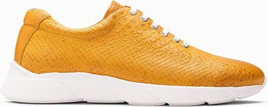 Paulo Bellini Sneaker Caserta Leather Oker Geel