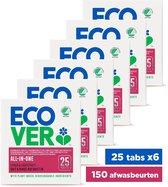 Ecover Vaatwastabletten All In One - Voordeelverpakking 150 Tabs