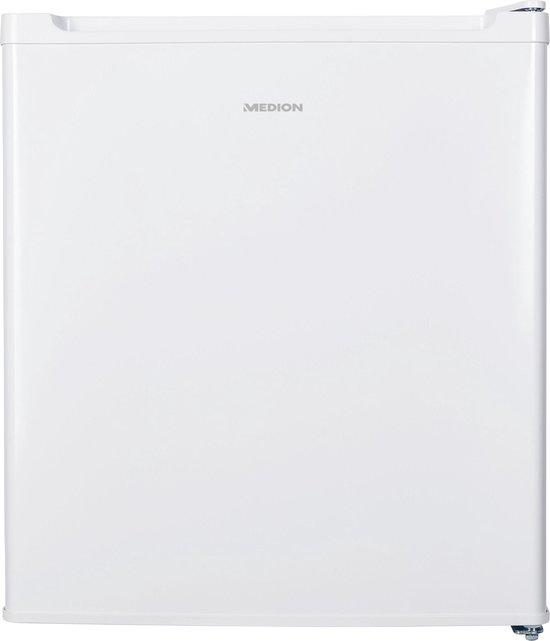 Koelkast: MEDION MD 37574 combi-koelkast Vrijstaand 40 lWit, van het merk MEDION
