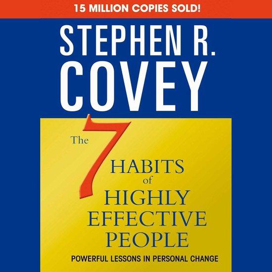 Boek cover The 7 Habits of Highly Effective People van dr stephen r covey (Onbekend)