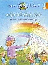 Boek cover Ssst... ik lees!  -   Mijn juf doet raar van Pieter van Oudheusden (Hardcover)
