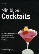 Boek cover Minibijbel  -   Cocktails van Stuart Walton (Hardcover)